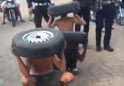 車を盗もうとして捕まった泥棒たち、とんでもなく恥ずかしい拷問を受けてしまうwwwww