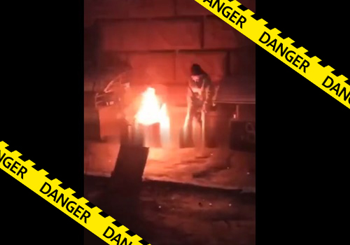 【閲覧注意】海外のDQNの間で流行ったホームレスに火をつけて燃やす遊び、尋常じゃない。