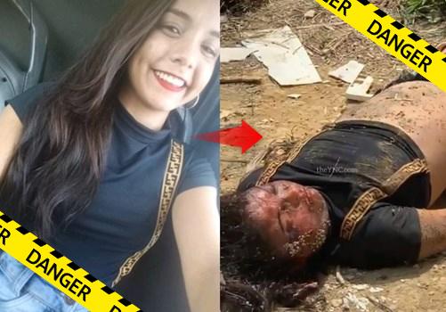 【閲覧注意】ボーイフレンドに殺害されてしまった女の子、無残な姿で発見されてしまう・・・