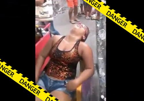 【閲覧注意】2発の銃弾に顔面を撃ち抜かれイスに座ったまま死亡した15歳の少女