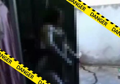 【グロ動画】首吊り自殺で顔面がモンスター化してしまった女子高生・・・