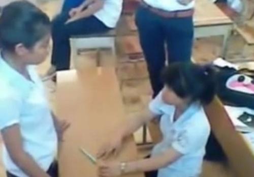 同級生からいじめを受けている女子生徒の動画が見てたらガチで可哀想になる件