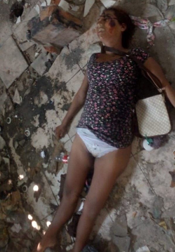【閲覧注意】殺人レ●プ被害者となった若い売春婦の画像をご覧ください・・・