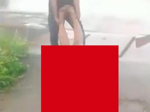 【閲覧注意】ギャングに拘束されたこの女性がこれからどういう目に遭うか・・ご覧ください(動画)