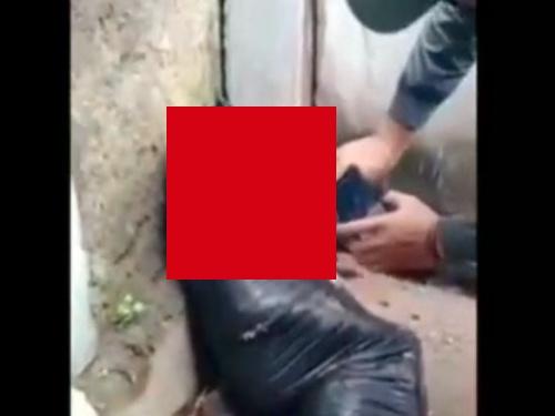 【閲覧注意】行方不明だった女子中学生、ビニール袋にくるまれた状態で発見される・・(動画あり)
