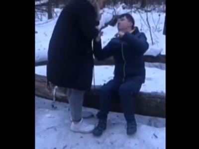 【驚愕】泥酔夫にブチ切れの女さん、指をへし折って顔面にサッカーボールキックwwww
