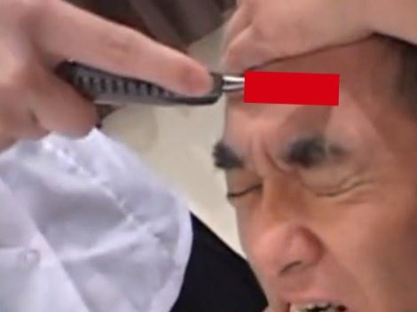 【閲覧注意】女子高生がおじさんの顔面を切り刻む日本の拷問AV、海外で話題になってしまう