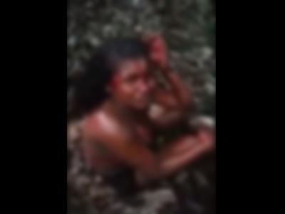 【閲覧注意】ブラジルの山奥で血まみれの女の子が今からどうされるか・・・(動画あり)