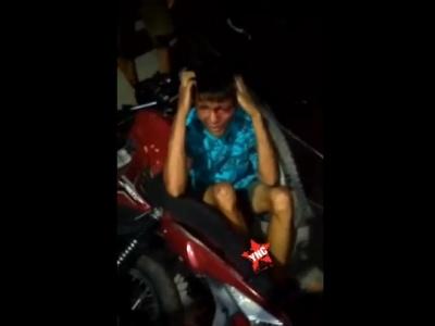 【閲覧注意】海外でバイクを盗んだ人間がどのような罰をうけるか・・・(動画あり)