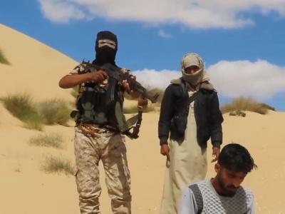 """【閲覧注意】ISISに潜入していた2人のスパイ、失敗して """"こうなる""""・・・(動画あり)"""