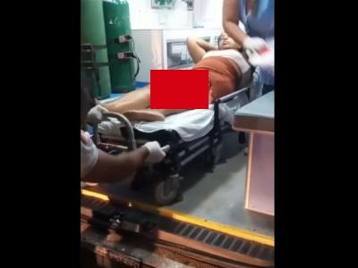 """【閲覧注意】女さん、交通事故で """"大腿骨"""" がぶっ壊れてしまう・・・(動画あり)"""