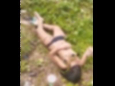 【閲覧注意】昨日行方不明になった女さん、パンツ1枚の姿で発見される。これって完全にレ●プされてるよな・・(動画)