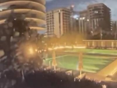 【衝撃映像】突然ビルが崩壊する事故、中国だけじゃなかった・・・