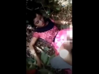 若い娘がナイフで脅されながら輪姦される本物レイプ映像、残酷すぎて逆に抜けないレベル・・・