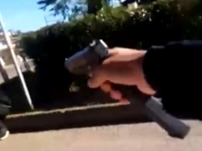 【衝撃映像】海外の犯行動画が過激すぎると話題。GTAかよ・・・