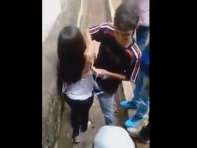 """十代少女が同年代の男子たちに """"性的いたずら"""" される動画で一番やばいのってコレだよな"""