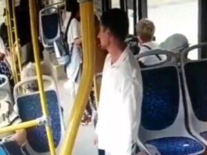 【閲覧注意】ガチのサイコパスと一緒のバスに乗ってしまった結果・・・(動画あり)