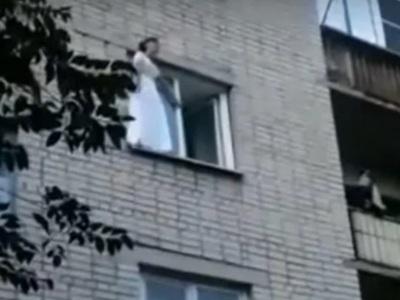 【閲覧注意】女さん、結婚式直後にマンションから飛び降り自殺・・・(動画あり)