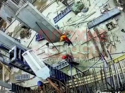 【衝撃映像】ロシアの工事現場が危険すぎると話題