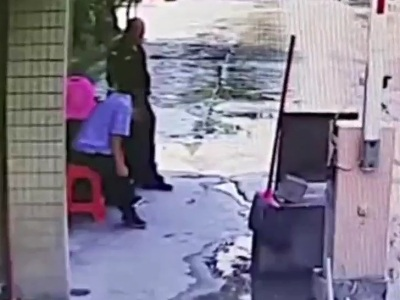 【閲覧注意】休憩中の警備員、とんでもない死に方をしてしまう・・・(動画あり)