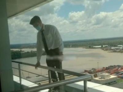 【閲覧注意】裁判に負けて絶望した弁護士、タワマンの22階から飛び降り自殺・・・(動画あり)